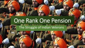 one rank one pension (OROP)