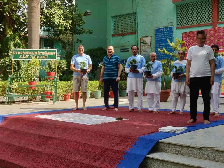 Yoga Day Celebration with Virender Singh Kadian