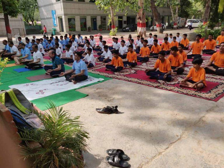 Virender Singh Kadian on Yoga Day