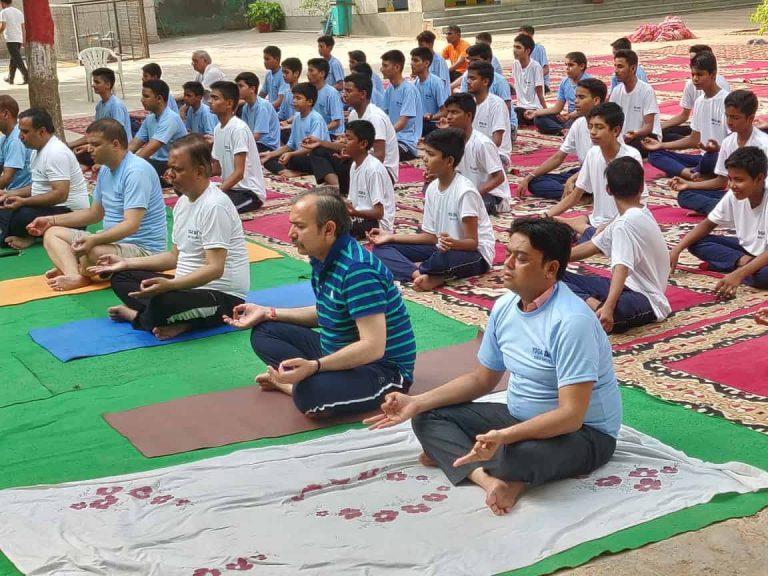 International Yoga Day Celebration Delhi